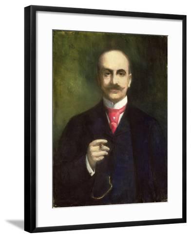 Portrait of the Artist-Lesser Ury-Framed Art Print
