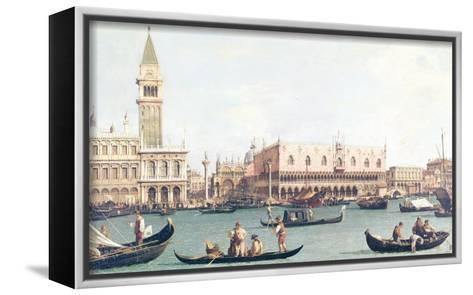 Venice from the Bacino-Canaletto-Framed Canvas Print