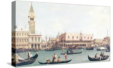Venice from the Bacino-Canaletto-Stretched Canvas Print