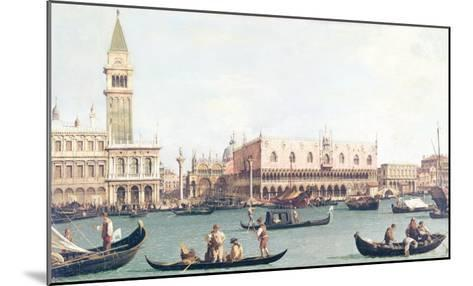Venice from the Bacino-Canaletto-Mounted Giclee Print