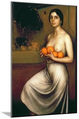 Oranges and Lemons-Julio Romero de Torres-Mounted Giclee Print