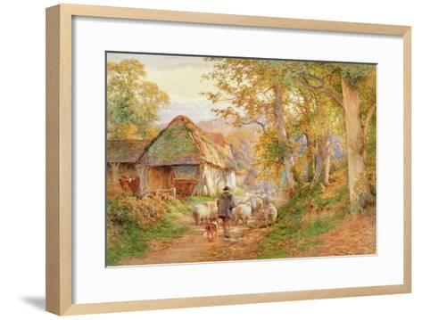 Back to the Fold-Charles James Adams-Framed Art Print