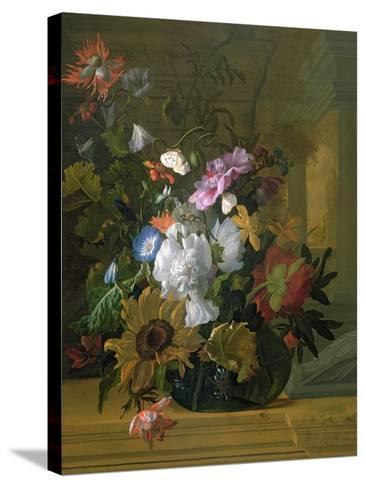 Flower Still Life-Rachel Ruysch-Stretched Canvas Print