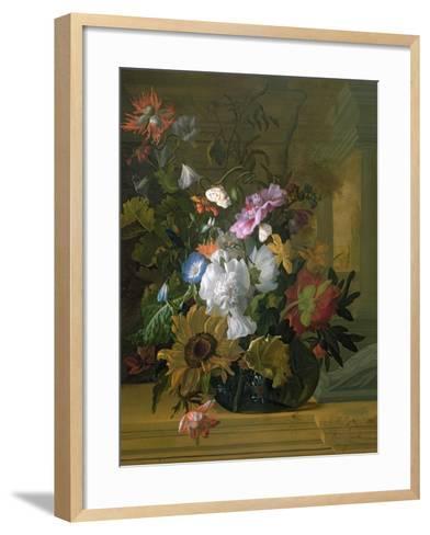 Flower Still Life-Rachel Ruysch-Framed Art Print
