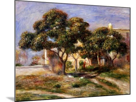 The Medlar Trees-Pierre-Auguste Renoir-Mounted Giclee Print