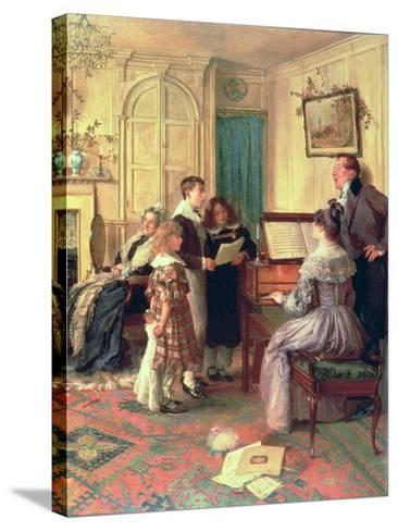 Home Sweet Home-Walter Dendy Sadler-Stretched Canvas Print