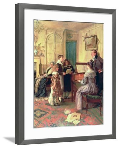 Home Sweet Home-Walter Dendy Sadler-Framed Art Print
