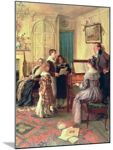 Home Sweet Home-Walter Dendy Sadler-Mounted Giclee Print