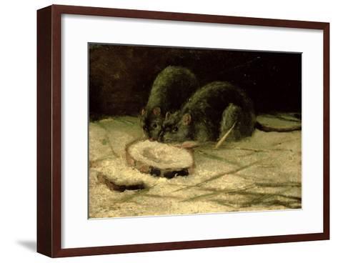 Two Rats, C.1884-Vincent van Gogh-Framed Art Print