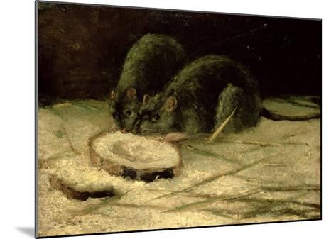 Two Rats, C.1884-Vincent van Gogh-Mounted Giclee Print