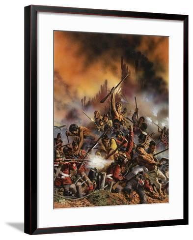 Maori Rebellion-Oliver Frey-Framed Art Print