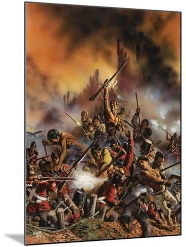 Maori Rebellion-Oliver Frey-Mounted Giclee Print