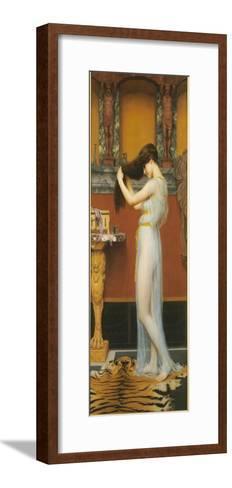 The Toilet, 1900-John William Godward-Framed Art Print