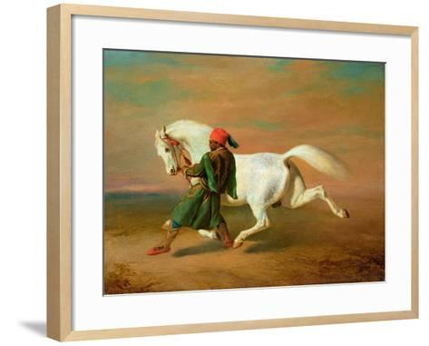 The Pasha's Pride-Alfred De Dreux-Framed Art Print