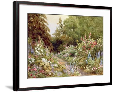 Herbaceous Border-Evelyn L. Engleheart-Framed Art Print