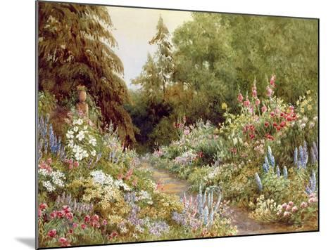 Herbaceous Border-Evelyn L. Engleheart-Mounted Giclee Print