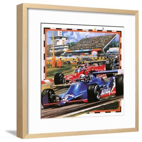 Grand Prix Racing-Wilf Hardy-Framed Art Print