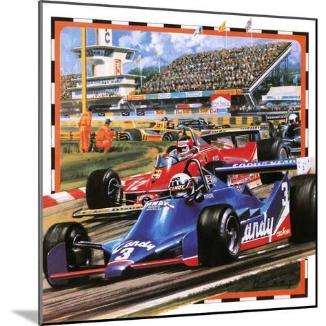 Grand Prix Racing-Wilf Hardy-Mounted Giclee Print