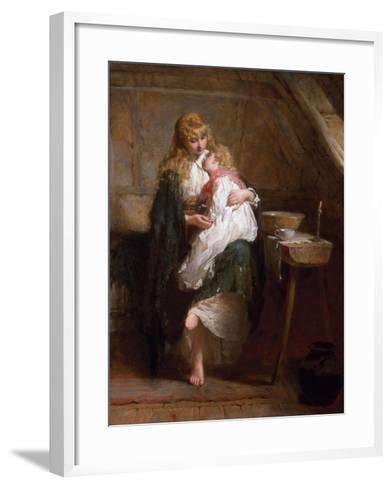 The Orphans, 1884-George Elgar Hicks-Framed Art Print
