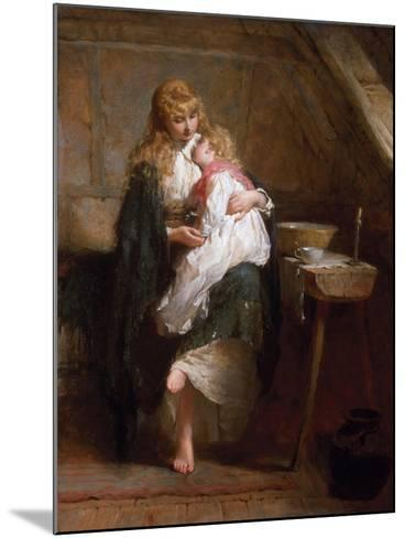 The Orphans, 1884-George Elgar Hicks-Mounted Giclee Print