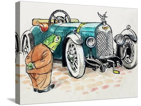 Toad of Toad Hall-Mendoza-Stretched Canvas Print
