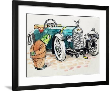 Toad of Toad Hall-Mendoza-Framed Art Print