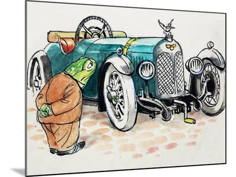 Toad of Toad Hall-Mendoza-Mounted Giclee Print
