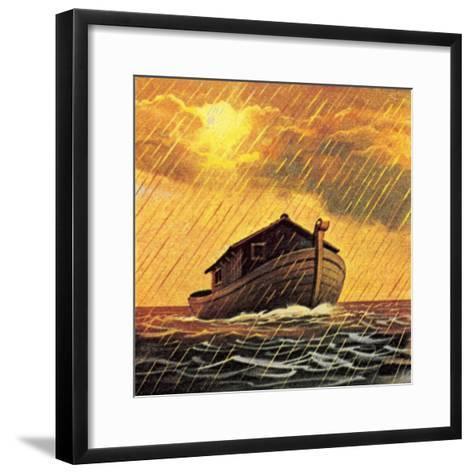 Noah's Ark-English School-Framed Art Print