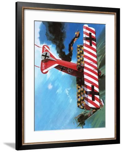 Fokker D Vii-Wilf Hardy-Framed Art Print