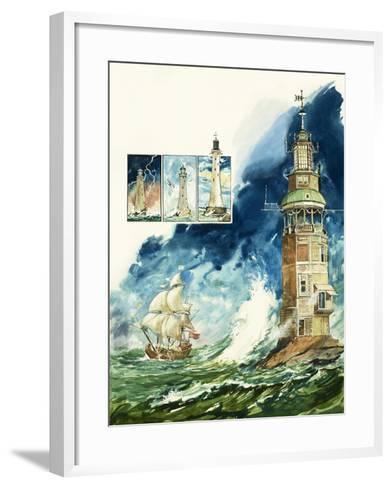 Lighthouses-Leo Davy-Framed Art Print