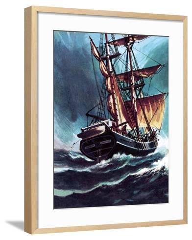 The Seafarer-Wilf Hardy-Framed Art Print