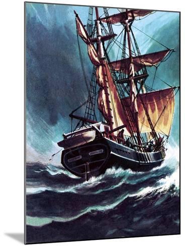 The Seafarer-Wilf Hardy-Mounted Giclee Print