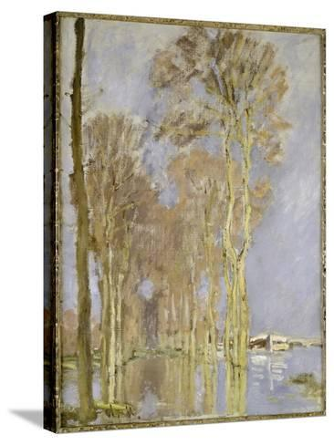 Flood-Claude Monet-Stretched Canvas Print