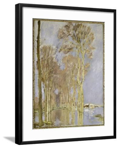 Flood-Claude Monet-Framed Art Print