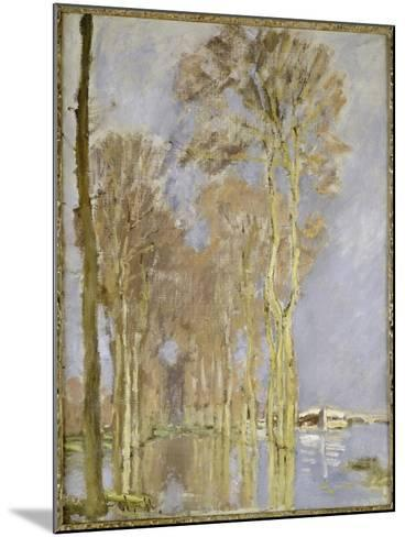 Flood-Claude Monet-Mounted Giclee Print