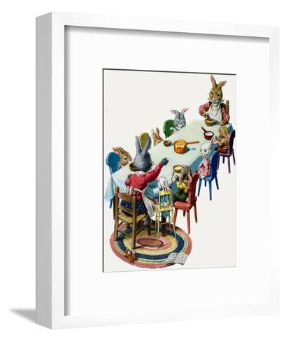 Brer Rabbit-Virginio Livraghi-Framed Art Print