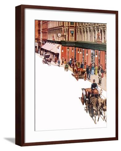 Whiteleys-Peter Jackson-Framed Art Print