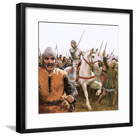 Joan of Arc-Ken Petts-Framed Art Print