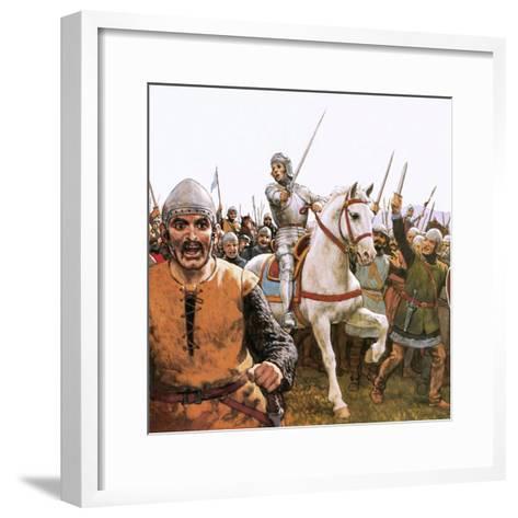 Joan of Arc-Ken Petts-Framed Art Print