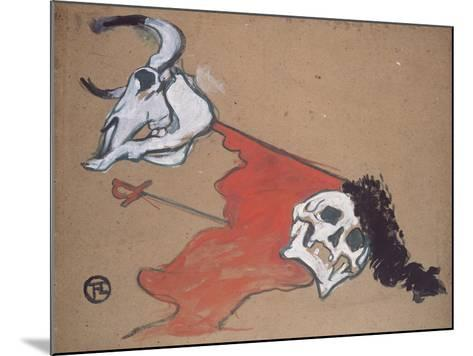 Bullfighting-Henri de Toulouse-Lautrec-Mounted Giclee Print