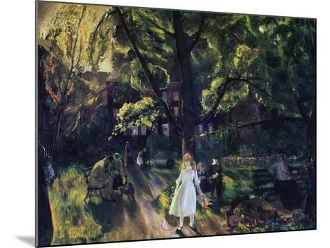 Gramercy Park-George Wesley Bellows-Mounted Giclee Print