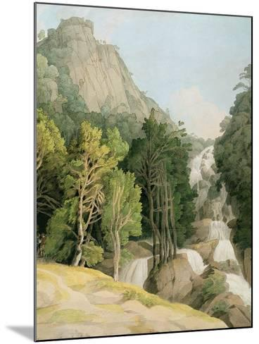 Lodore Falls-Francis Towne-Mounted Giclee Print