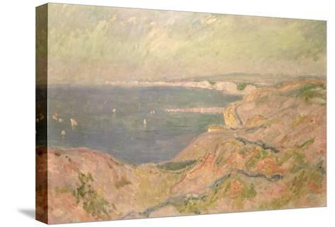 Seascape-Claude Monet-Stretched Canvas Print