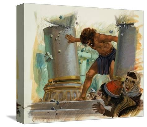 Samson-Andrew Howat-Stretched Canvas Print