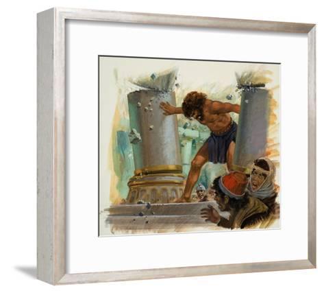 Samson-Andrew Howat-Framed Art Print