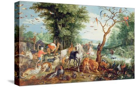 Noah's Ark-Jan Snellinck-Stretched Canvas Print