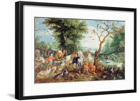 Noah's Ark-Jan Snellinck-Framed Art Print