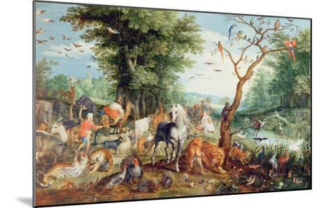 Noah's Ark-Jan Snellinck-Mounted Giclee Print