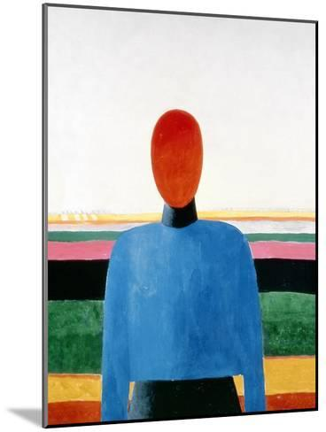 Bust of Woman-Kasimir Malevich-Mounted Giclee Print