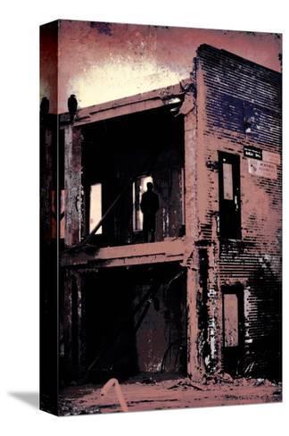 La Grande Finale 4 - Mauve-Pascal Normand-Stretched Canvas Print